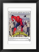 Spiderman Strikes Back Wall Poster