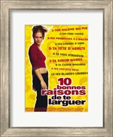 Ten Things I Hate About You (French) Wall Poster