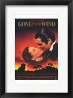 Gone with the Wind Scarlett O'Hara & Rhett Butler Wall Poster