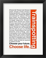 Trainspotting Fine-Art Print