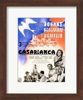 Casablanca Blue Bird Wall Poster