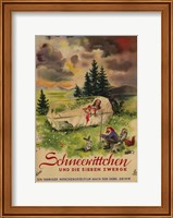 Snow White and the Seven Dwarfs Book Wall Poster