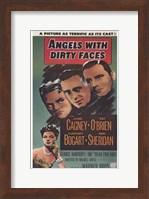Angels with Dirty Faces Gagney O'Brien Bogart Sheridan Fine-Art Print