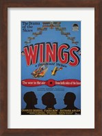 Wings - The war in the air from both sides of the lines Wall Poster