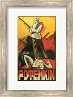 The Battleship Potemkin Art Deco Wall Poster