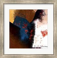 Teal Abstract II Fine-Art Print