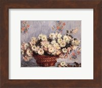 Basket of Chrysanthemums, c.1878 Fine-Art Print