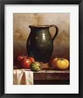 Green Pitcher, Heirlooms & Cloth Fine-Art Print