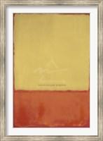 The Ochre (Ochre, Red on Red), 1954 Fine-Art Print