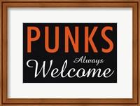 Punks Always Welcome Fine-Art Print