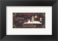 Home for Holidays Fine-Art Print
