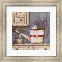 Herbs & Watering Can Fine-Art Print