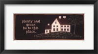 Plenty And Grace Fine-Art Print