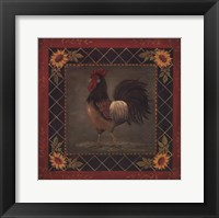 Sunflower Rooster II Fine-Art Print