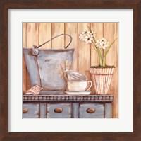 Coastal Cupboard II Fine-Art Print