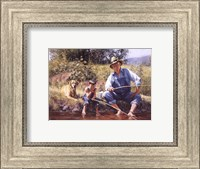 Fishin' with Grandpa Fine-Art Print