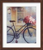 Fleurs/Bicyclette I Fine-Art Print