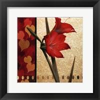 Amaryllis Red Damasque Fine-Art Print