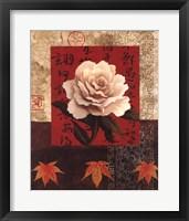 White Chinese Rose Fine-Art Print