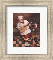 Christmas Chef I Fine-Art Print