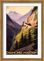 Chamonix-Martigny Wall Poster