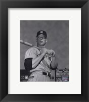 Mickey Mantle- With bat looking towards his right Fine-Art Print