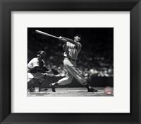 Ted Williams - Batting (sepia) Fine-Art Print