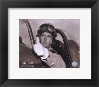 Ted Williams - Fighter Pilot (sepia) Fine-Art Print