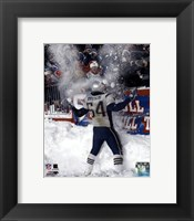 Tedy Bruschi - Snow Game 12/7/03 Fine-Art Print