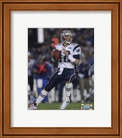 Tom Brady - Super Bowl XXXIX - passing in first quarter Fine-Art Print
