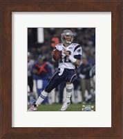 Tom Brady - Super Bowl XXXIX - passing in first quarter Fine-Art Print
