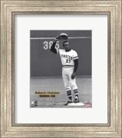 Roberto Clemente - 9/30/72 3000 Hit Fine-Art Print