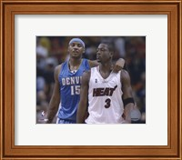 Carmelo Anthony / Dwyane Wade '05 / '06 Action Fine-Art Print