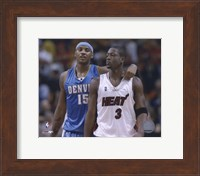 Carmelo Anthony / Dwyane Wade '05 / '06 Action Fine-Art Print