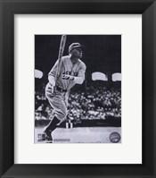 Babe Ruth - Batting Action At The Stadium Fine-Art Print