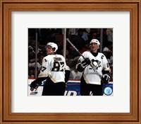 Sidney Crosby / Mario Lemieux - '05 / '06 Group Shot Fine-Art Print