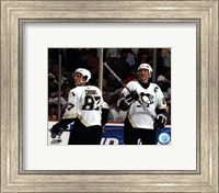 Sidney Crosby / Mario Lemieux - '05 / '06 Group Shot Fine-Art Print