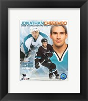 Jonathan Cheechoo - '06 Mourice Richard Trophy / Portrait Plus Fine-Art Print