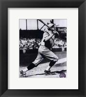 Babe Ruth - Batting Action Fine-Art Print