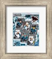 2006 - Sharks Team Composite Fine-Art Print