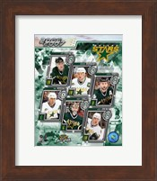 '06 / '07 - Stars Team Composite Fine-Art Print
