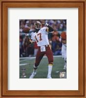 Doug Williams Super Bowl XXII 1988 Passing Action Fine-Art Print