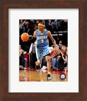 Allen Iverson - '06 / '07 blue jersey Fine-Art Print