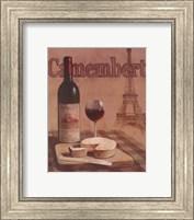 Camembert - Tour Eiffel Fine-Art Print
