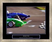 Drive-Race Car Fine-Art Print