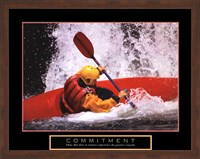 Commitment - Kayak Fine-Art Print