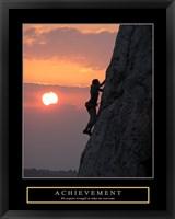 Achievement - Climber Fine-Art Print