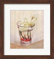White Flowers In Glass Fine-Art Print