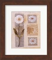 White Flower Montage Fine-Art Print