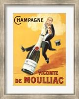 Champagne Vicomte De Moulliac Fine-Art Print